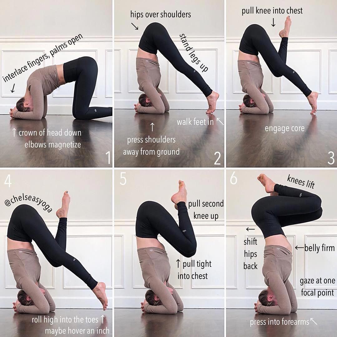 Yoga Headstand Modifications