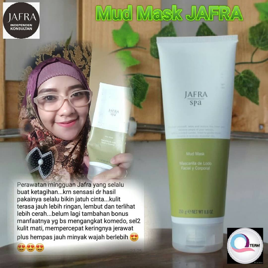 Review Jafra Mud Mask Untuk Kulit Berjerawat