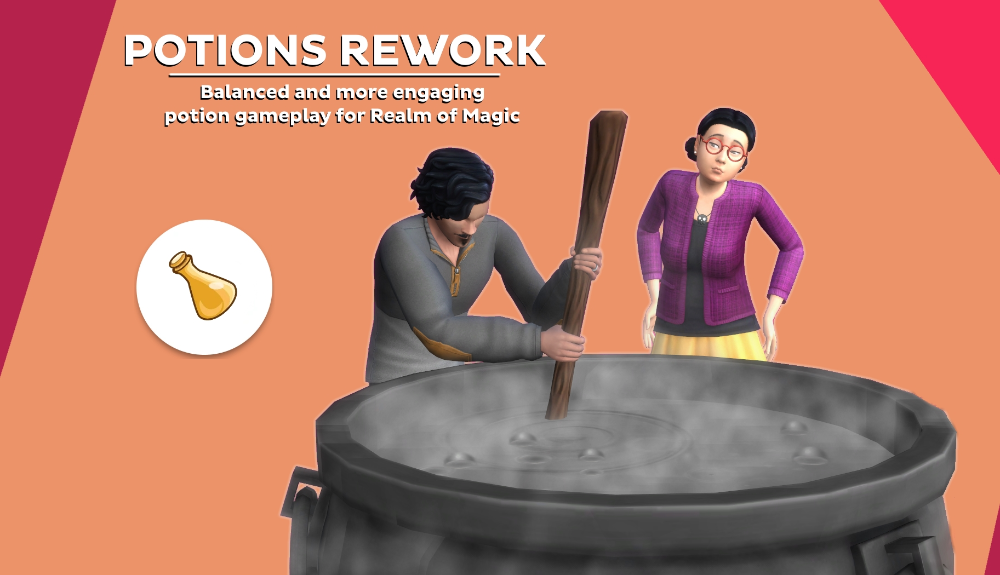 Mod The Sims - Potion Rework in 2020   Sims 4, Sims, Maxis ...