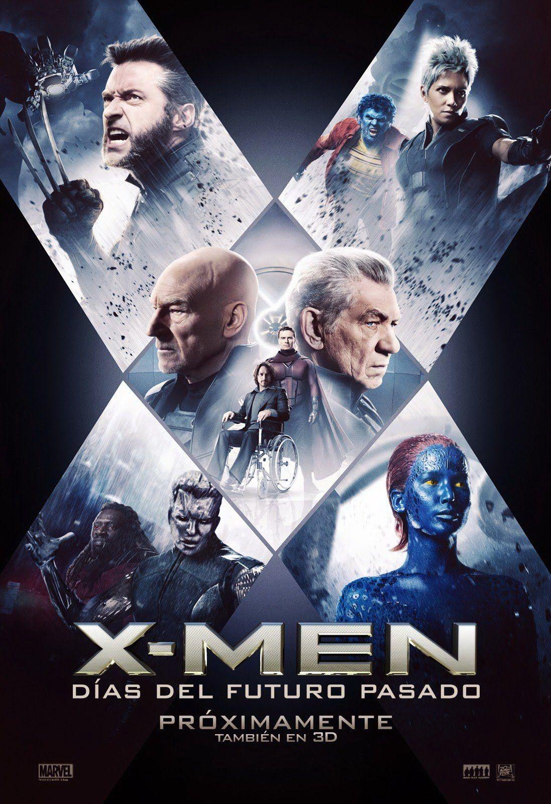 X Men Dias Del Futuro Pasado 2014 Hombres X Dias Del Futuro Pasado X Men