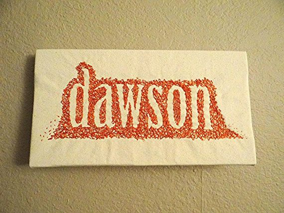 Personalized name wall art by jenMreebDesign on Etsy, $55.00