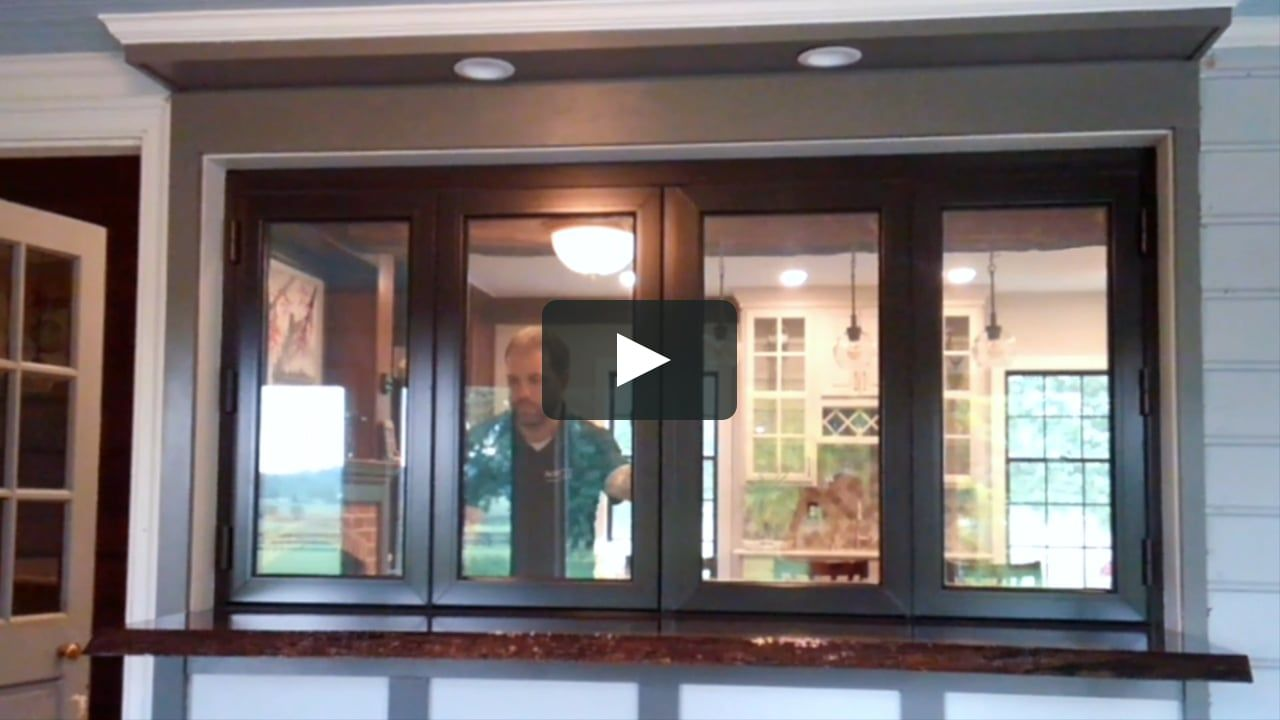 This Is Rural Maryland Kitchen Window By Activwall On Vimeo The Home For High Quality Videos In 2020 Kitchen Window Design Window Grill Design Wooden Window Design