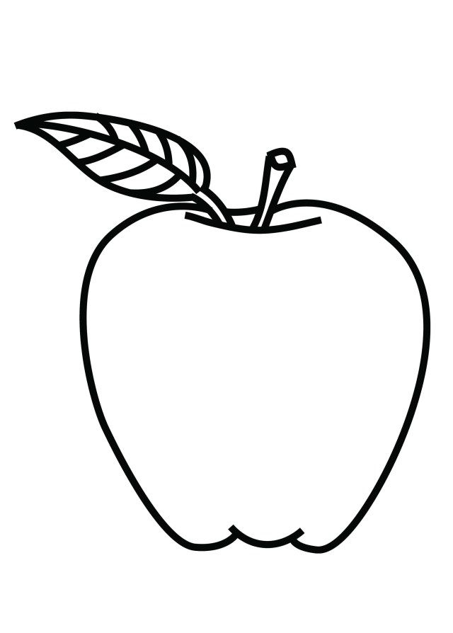 30 Best Picture Of Apple Coloring Pages Albanysinsanity Com Apple Coloring Pages Fruit Coloring Pages Apple Picture