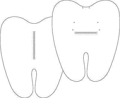Resultado de imagem para dente e escova de feltro