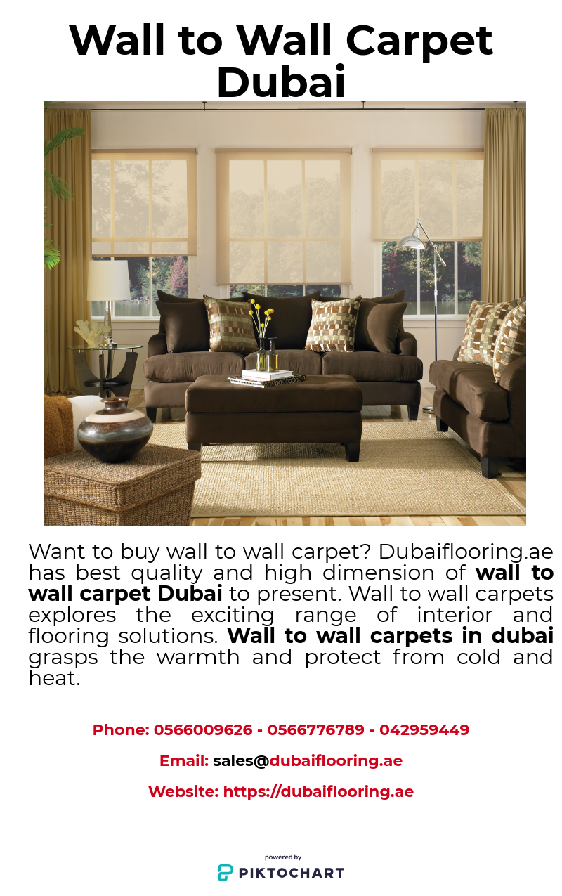 Wall To Wall Carpet Adds A Royal Interior Appearance To Your Home