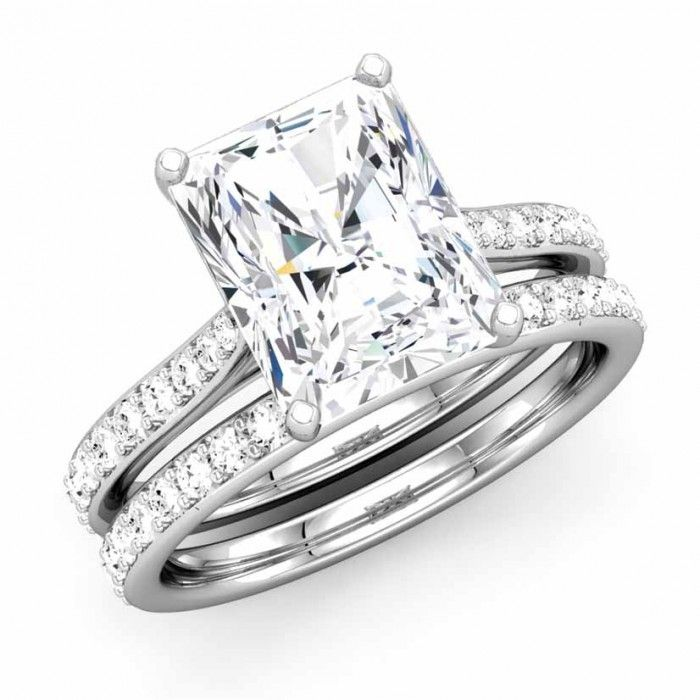 Elegant Sparkling Diamond Bridal Ring Top rated custom jeweler in
