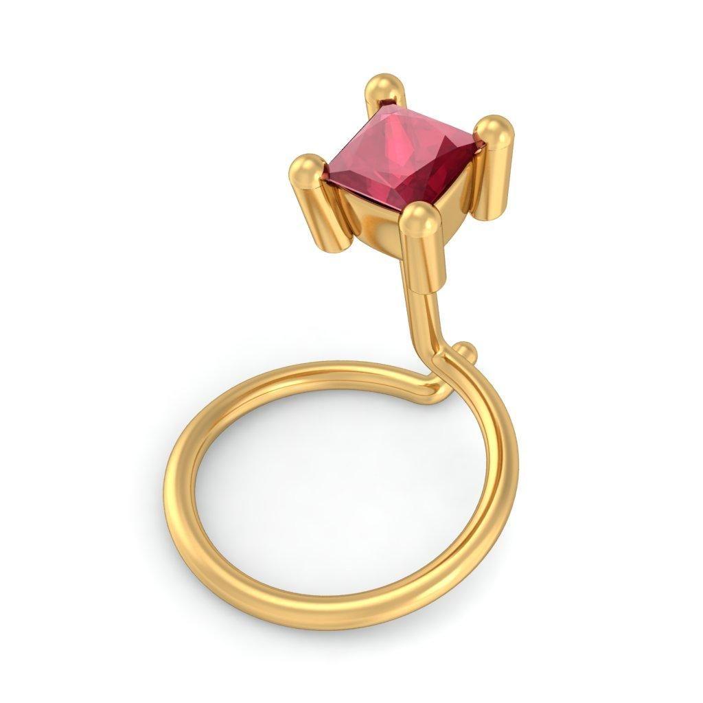 The Japonica Nose Pin Bluestone Jewellery Jewelry Fashion