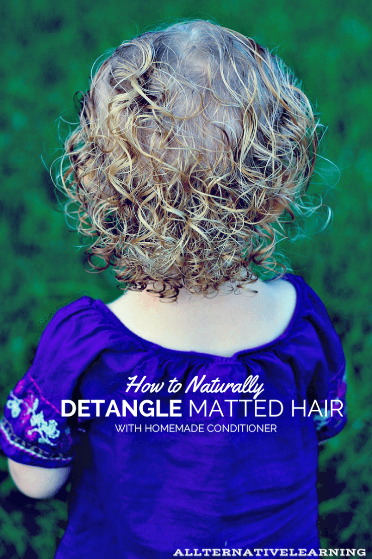 How To Detangle Matted Hair Matted Hair Toddler Curly