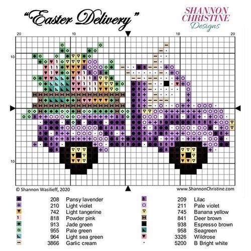 Photo of Shannon Christine Designs Cross Stitch Patterns