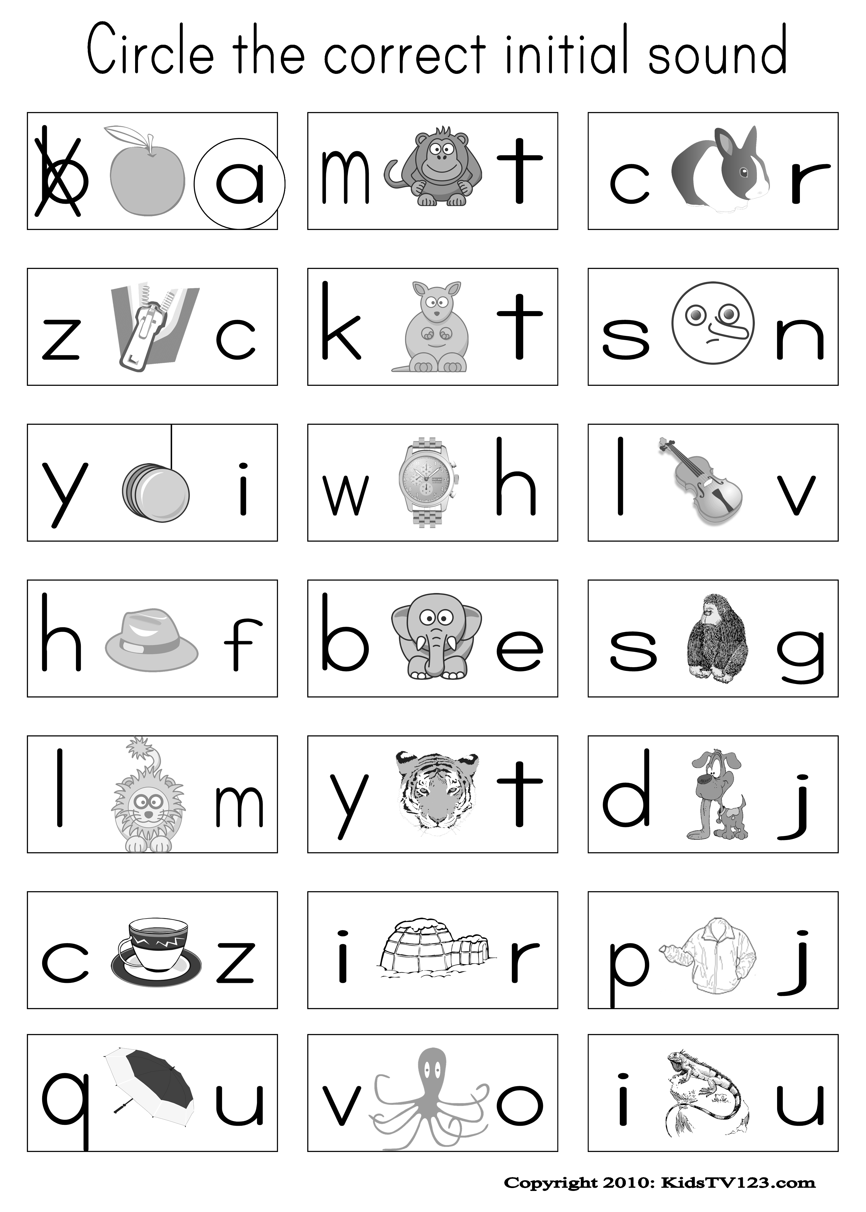 Worksheets Printable Vowel Worksheets kidstv123 com phonics worksheets classroom reading worksheets