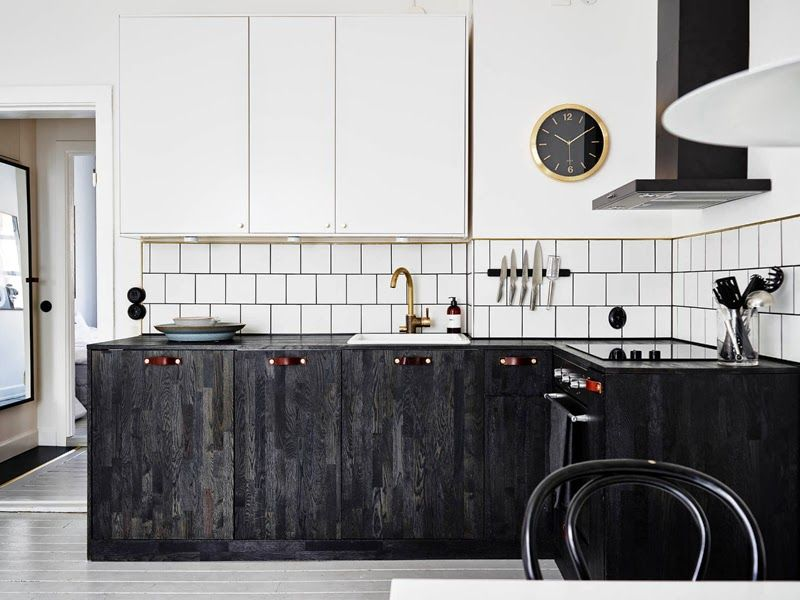 In schwarz und weiß Innendekoration Pinterest Stockholm