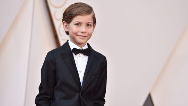 Jacob Tremblay arrives at the Oscars Feb. 28 at the Dolby Theatre in Los…