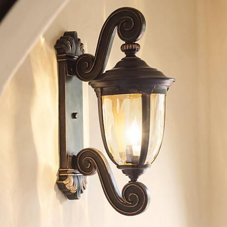 A Handsome Antique Style Outdoor Wall Light From The John Timberland Lighting Collection Outdoor Light Fixtures Wall Lights Outdoor Wall Lighting