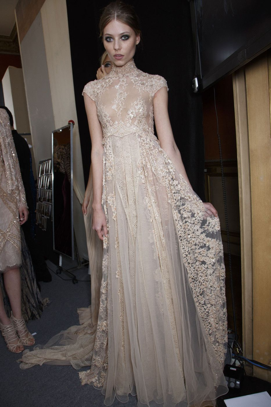 Zuhair murad at couture fall zuhair murad couture and backstage