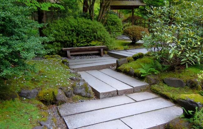 Image gallery japanese garden paths for Japanese garden path