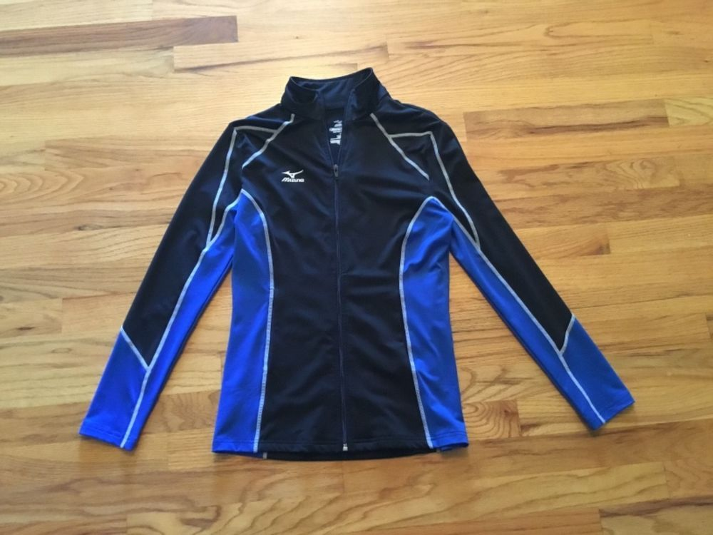f5790b78cf5 Mizuno womens jacket size xs drylite royal   black worn once  fashion   clothing  shoes  accessories  womensclothing  activewear (ebay link)