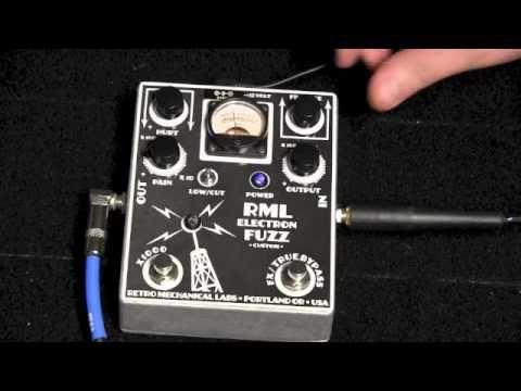Retro Mechanical Labs Electron Fuzz Demo