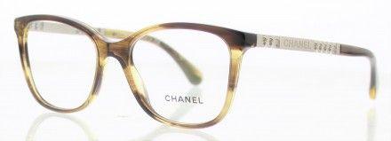 baf273d02e2c85 CHANEL CH3343 Marron 1566   Lunette de vue CHANEL   Pinterest   Chanel