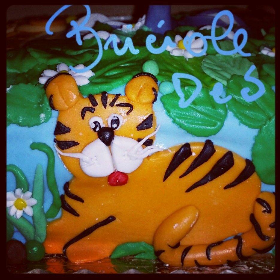 Particolare torta Jungle!