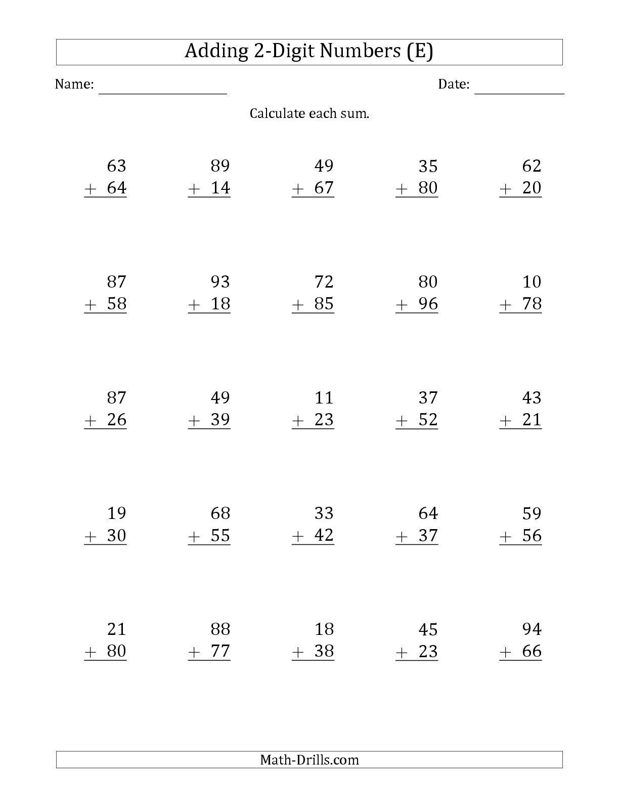Free Touch Math Worksheets Touch Worksheet In