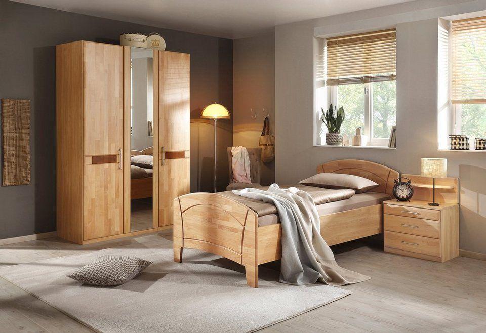 Home affaire Schlafzimmer-Set (4-tlg.) »Sarah«, mit Bett 100 ...