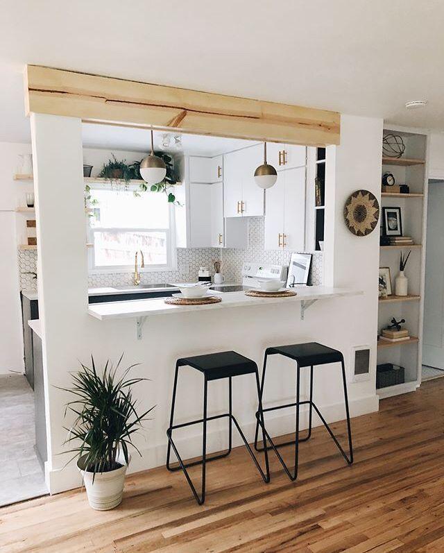 10 Layouts perfekt für Ihren kleinen Küchenbereich # Küchenarmaturen # kitchendesign # ki … – Ansichten  – Ansichten – küchenschränke