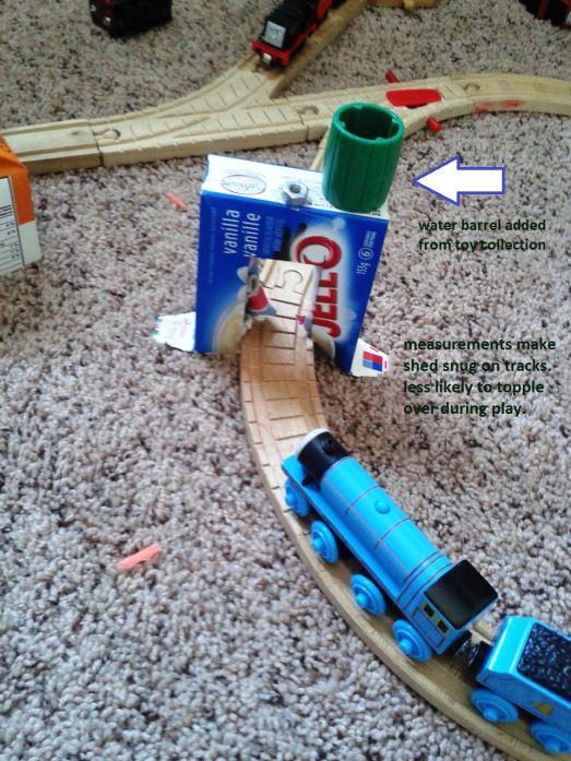 DIY Thomas the Train Washdown Shed free pattern | Thomas ...