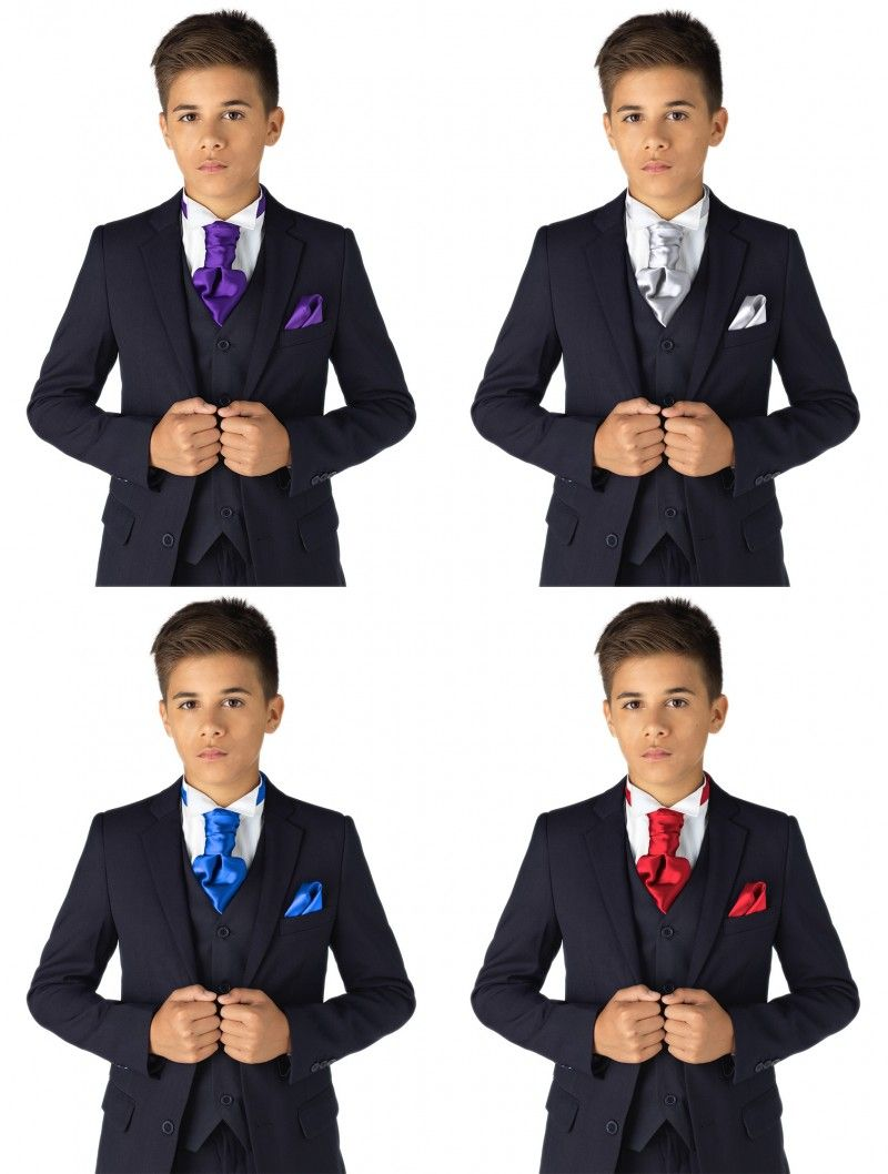 Page Boy Cravats Boys wedding Cravats Cravats for Boys Boys Baby Blue Cravat