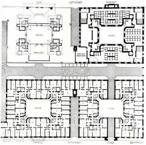 Tenement treatment for tuberculosis the cherokee for Floor plans new york city apartments