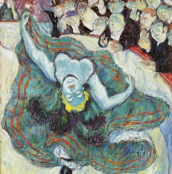 29 paintings by henri de toulouse lautrec and his for Toulouse lautrec works