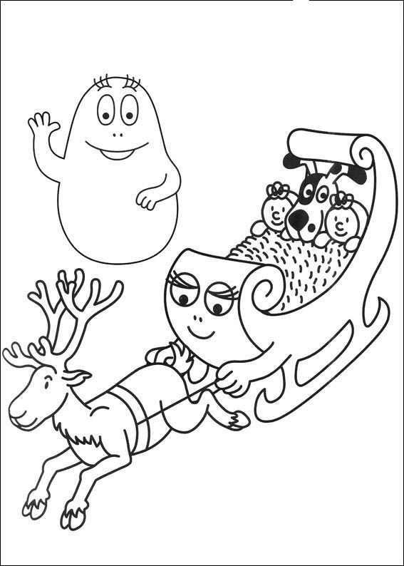 Barbapapa Train Deer | barbapapas | Pinterest | Dibujos para ...