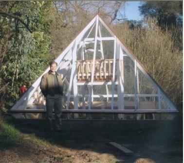 Greenhouse Designs Pyramid   Green house design ...