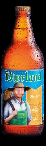 #EmpórioLençóis  Cerveja Weizen A Bierland Weizen é uma cerveja de trigo, de alta fermentação, inspirada nas típicas receitas da Baviera, região sul da Alemanha.  São cervejas refrescantes, de rápida maturação, e melhor apreciadas enquanto jovens e frescas. Por não ser filtrada, pode haver sedimento de leveduras nas garrafas, que devem ser gentilmente agitadas antes de serem servidas para homogeneizar a levedura em suspensão.