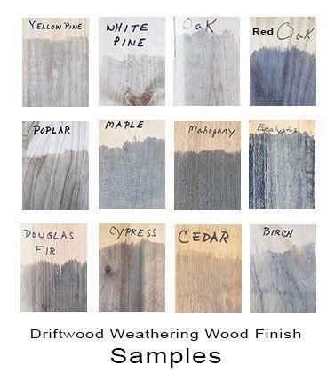 Driftwood Weathering Wood Finish Creates A Natural