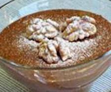 Receita Mousse de chocolate com nozes torradas por Equipa Bimby - Categoria da receita Sobremesas