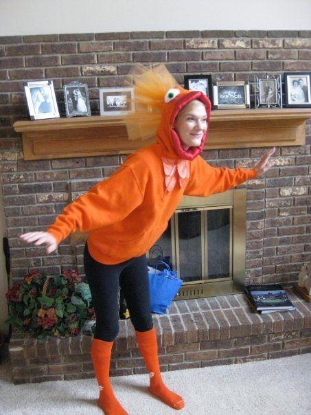 goldfish costume tutorial hooded sweatshirt upgrade costumes pinterest costume halloween. Black Bedroom Furniture Sets. Home Design Ideas