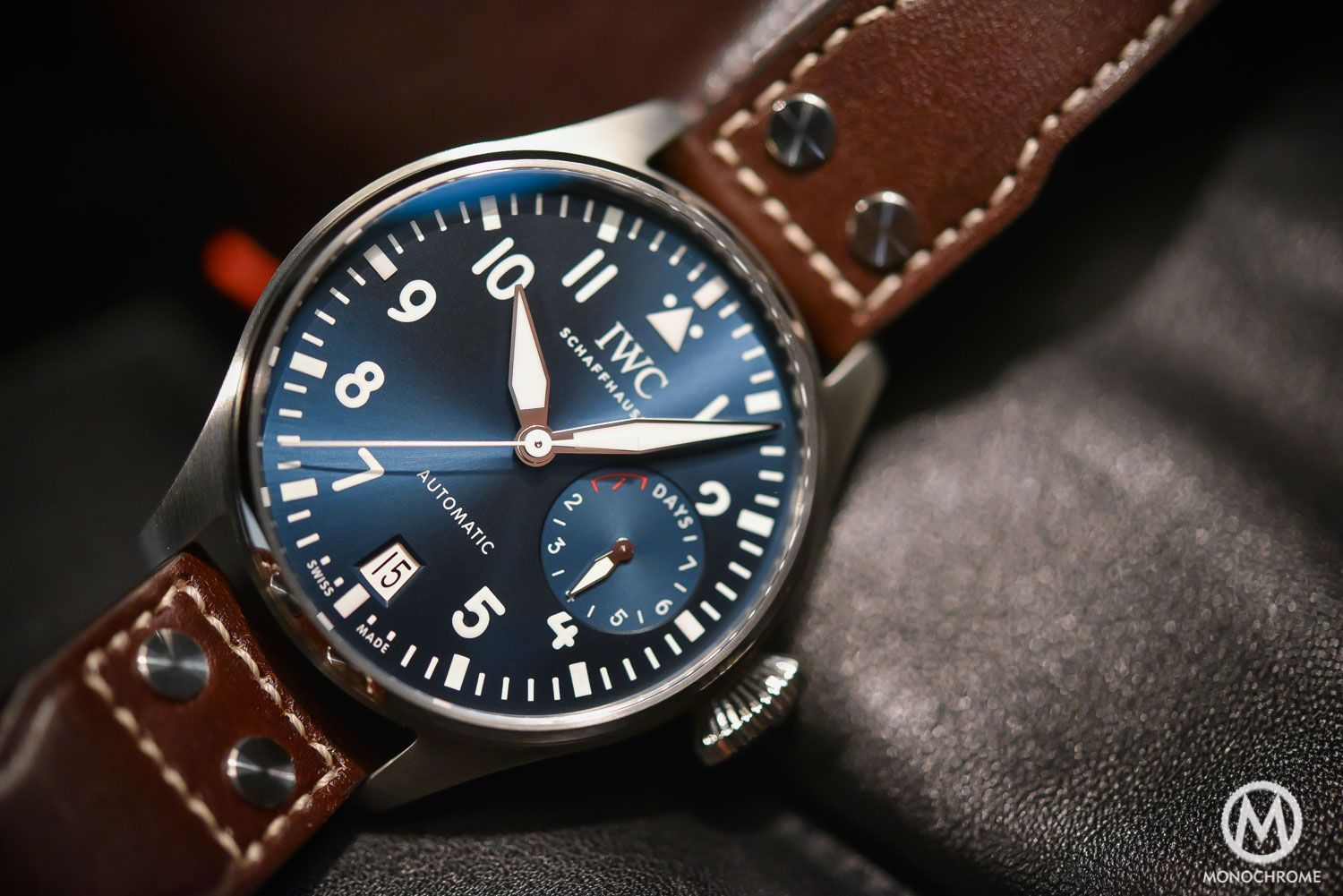 01029c0ab4c SIHH 2016 - Hands-on with the new IWC Big Pilot s Watch Edition  Le ...