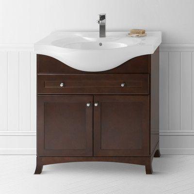 Ronbow Adara 31 Single Bathroom Vanity Base Only Single