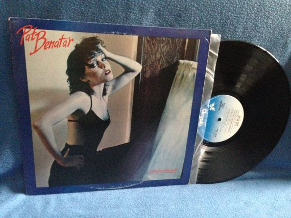 Vintage Pat Benatar  In The Heat Of The Night by sweetleafvinyl