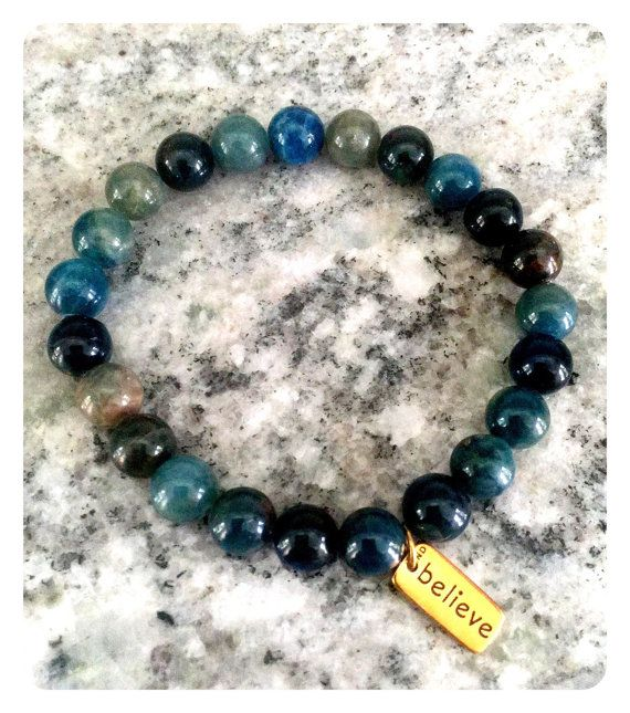 Hey, I found this really awesome Etsy listing at https://www.etsy.com/listing/236149229/apatite-believe-bracelet