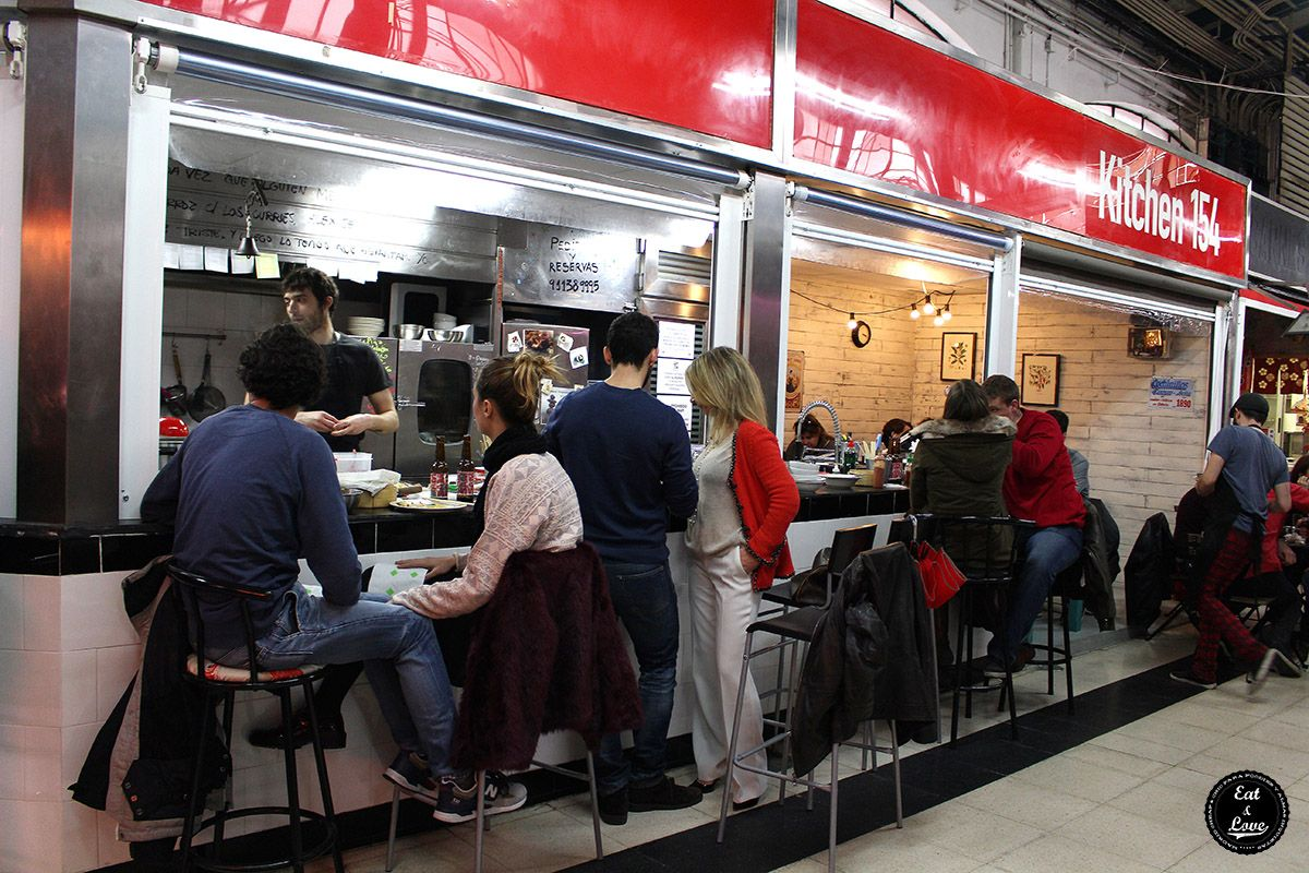 Kitchen 154 street food mercado Madrid