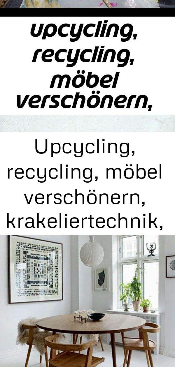 Upcycling, recycling, möbel verschönern, krakeliertechnik, kreidefarbe, krakelierlack, caballo co 57 #wanddekoselbermachen