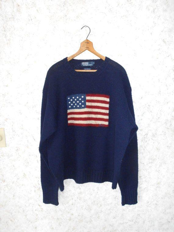 flag dress ralph lauren lambswool jumper
