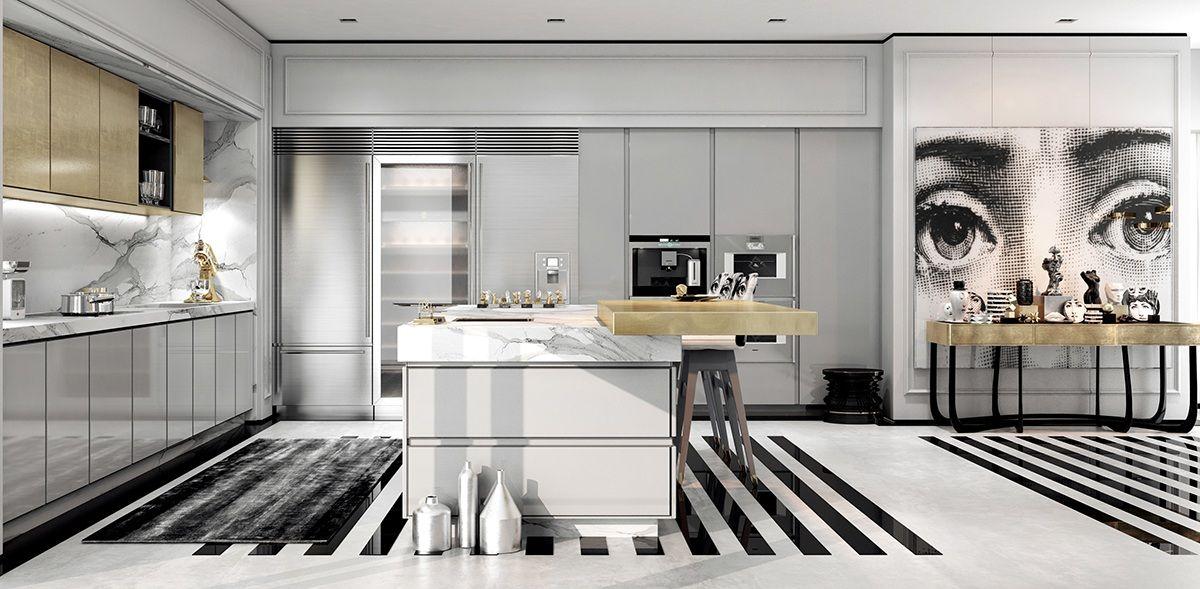Modern Apartment Designs Ideas With Beautiful Artistic Decor Art