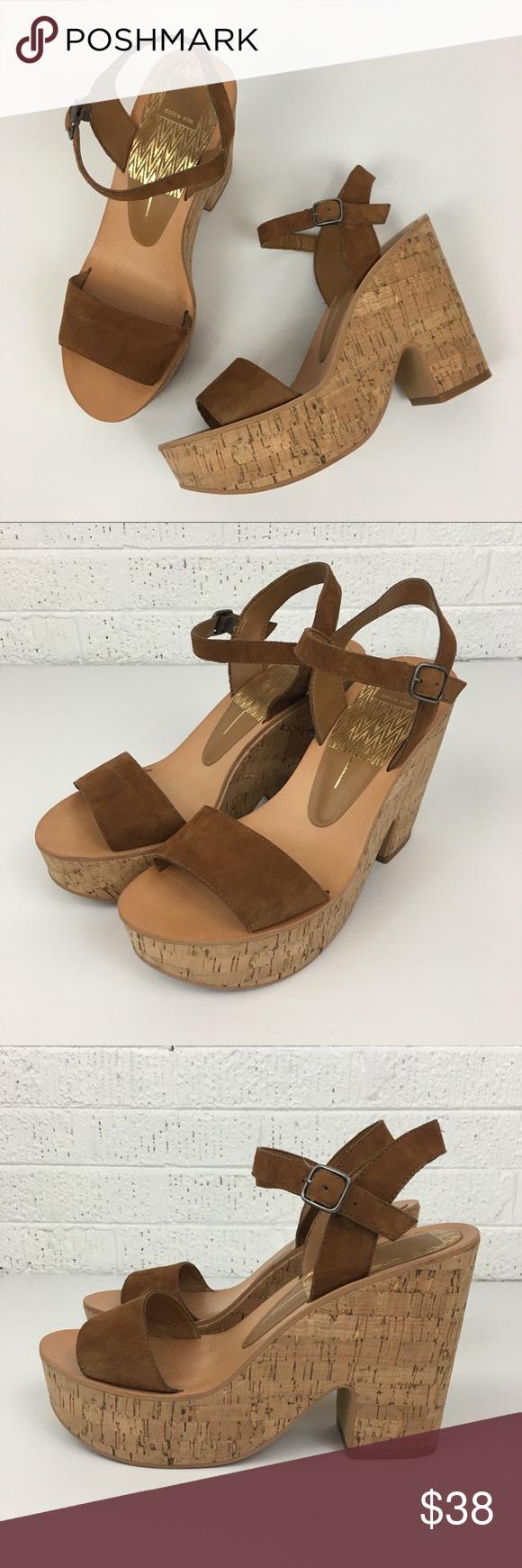 9d65a544b3f Dolce Vita Randi chunky heel sandals