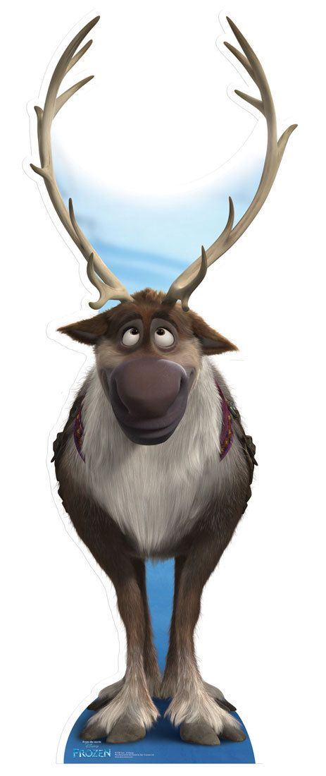 Sven from Frozen Disney Cardboard Cutout / Standee | Pinterest ...