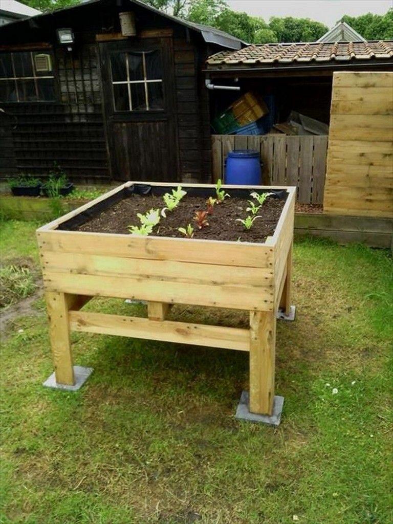31+ Simple Diy Wooden Raised Planter For Simple Garden