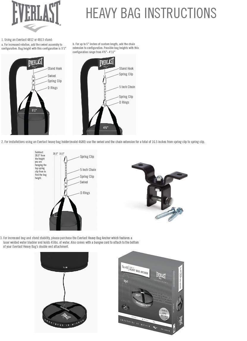 Everlast Powercore Freestanding Heavy Bag Review Heavy Bags Everlast Free Standing