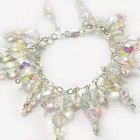 crystal, bransoletki - szkło