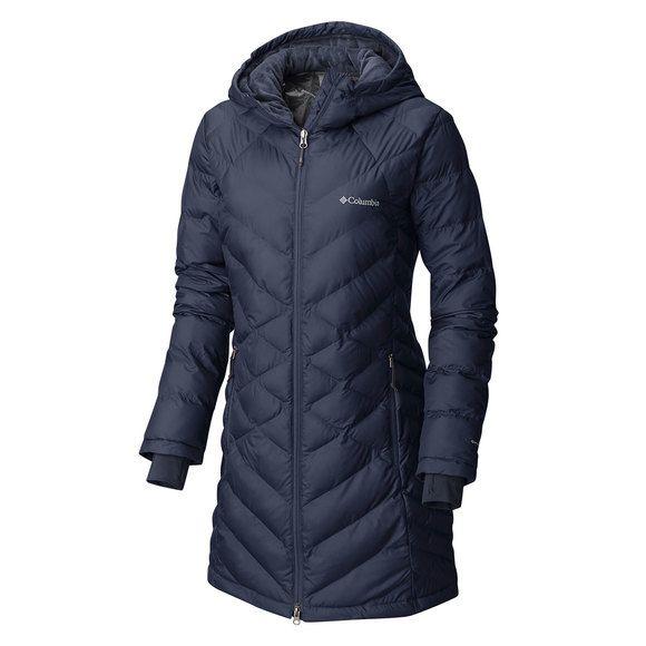 Heavenly Manteau en duvet à capuchon pour femme
